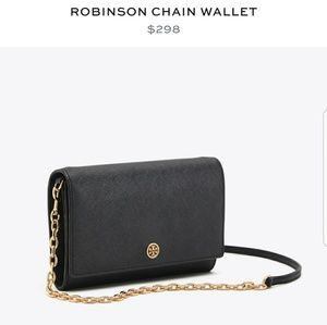 💖 Tory Burch Crossbody/ Wallet on chain💖